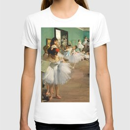 Edgar Degas - The Dance Class T-shirt