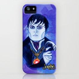 Barnabas Collins - Johnny Depp iPhone Case