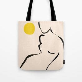 abstract minimal nude Tote Bag