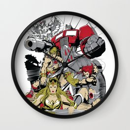 LEGENDS OF THE 80´S Wall Clock