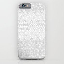 Akra in Grey iPhone Case