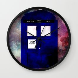 A stain in time and space Wall Clock