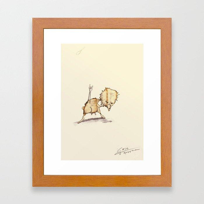 #coffeemonsters 503 Framed Art Print