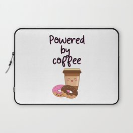 Powered By Coffee Laptop Sleeve