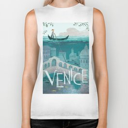Vintage poster - Venice Biker Tank