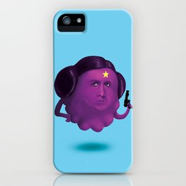 Lumpy Space Princess Leia iPhone Case