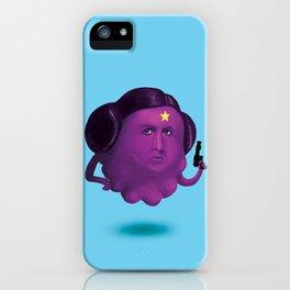 Lumpy Space Princess Leia iPhone Case