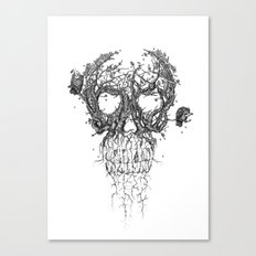 The Vulture Tree Canvas Print
