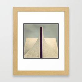 plastic flow Framed Art Print