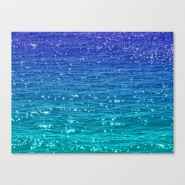SEA SPARKLE Canvas Print