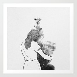 A little wander. Art Print