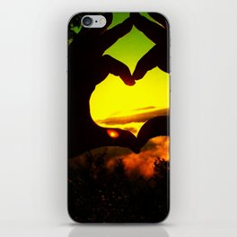 Heart Hands Forever iPhone Skin