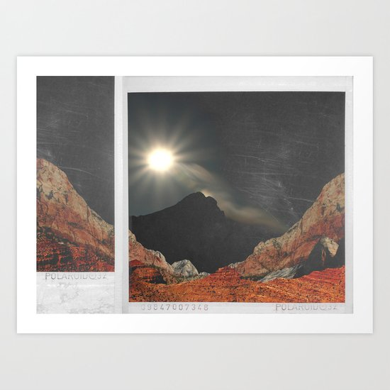 spacy polaroid? Art Print