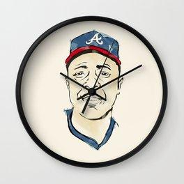 Hammerin' Hank Aaron Wall Clock
