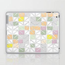 neutral toned origami Laptop & iPad Skin