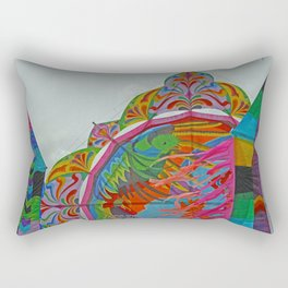 Color Kite for All Saints Day Rectangular Pillow