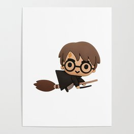 Little Wizard Poster