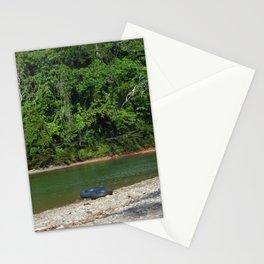 En el medio de nada Stationery Cards