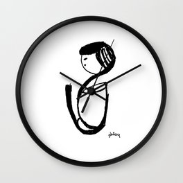 Grateful Wall Clock