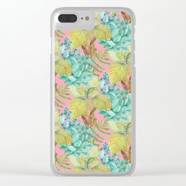 Greenery #society6 Clear iPhone Case
