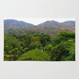 Dreamy Mexican Jungle Rug