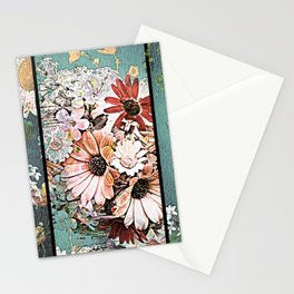 Pastel Bohemian Floral Stationery Cards