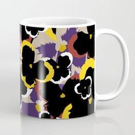 Pansy Love Coffee Mug