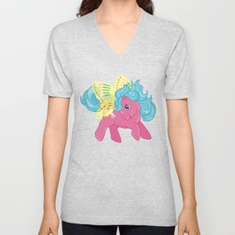 g1 my little pony summerwing sky dancer Unisex V-Neck
