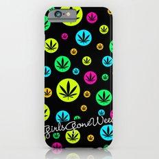 GGDUB - Neon Weed Leaf  Slim Case iPhone 6s