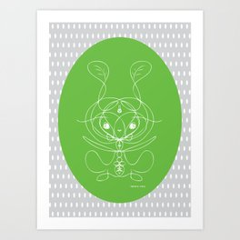 Permaculture Spirit II Art Print