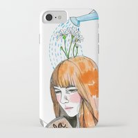 reading iPhone & iPod Cases featuring Reading by Andrea Méndez