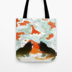 Cats Collaboration Tote Bag