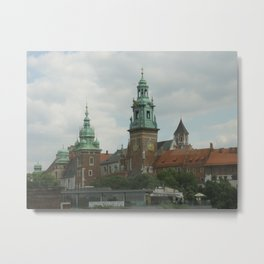 Wawel Royal Castle, Krakow Poland Metal Print