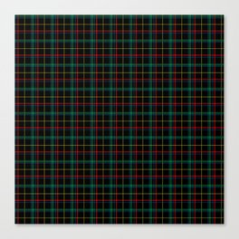 Red and green plaid Canvas Print