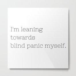 Blind Panic - Buffy, the Vampire Slayer - TV Show Collection Metal Print