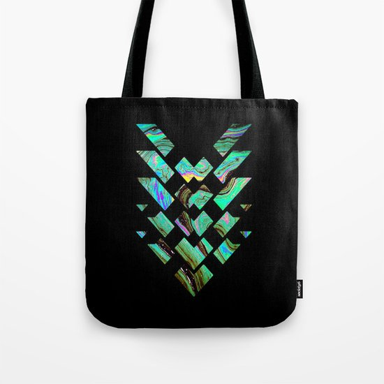 Tri Punch Fitted Tote Bag