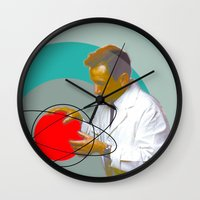 science Wall Clocks featuring Science by Renaissance Youth