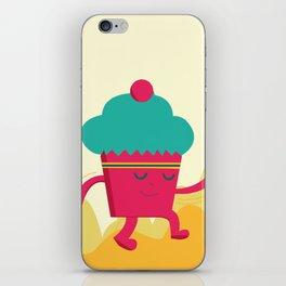 Dancing Cupcake iPhone Skin