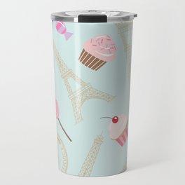 Paris Pattern Travel Mug