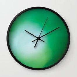 Green Surprise Wall Clock