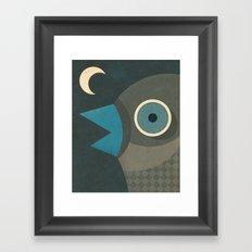 Wind-Up Bird Framed Art Print