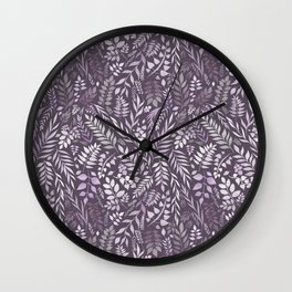 Lavender (Essential Oil Collection) Wall Clock