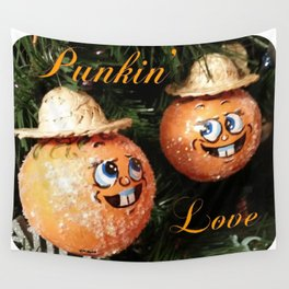 """Punkin'  Love"" Wall Tapestry"