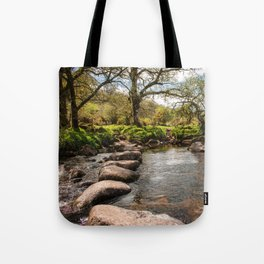 Dartmeet Stepping Stones Tote Bag