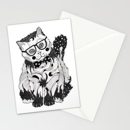 Super Intelligent Cat Stationery Cards