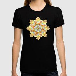 Flower Garden Mandala T-shirt