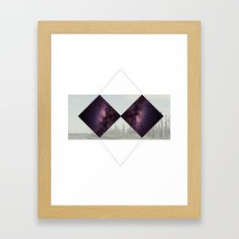 Geometric Universe Framed Art Print