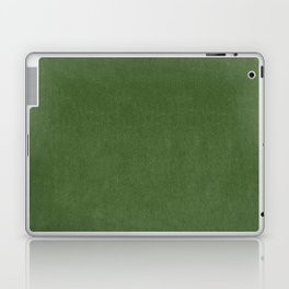 Sage Green Velvet texture Laptop & iPad Skin