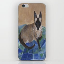 Siamese Napping iPhone Skin