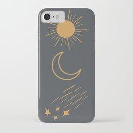 Sun, Moon and Stars iPhone Case